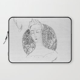bramble branch portrait Laptop Sleeve