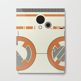 BB-8 Metal Print