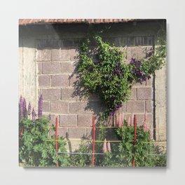 Floral Garden II Metal Print