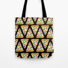 Rainbow Pizzas (Zigzag/Stripes)! Tote Bag