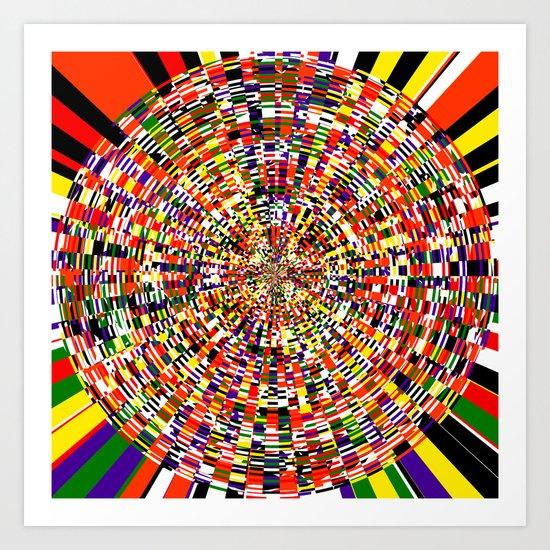 Centrifuge Art Print