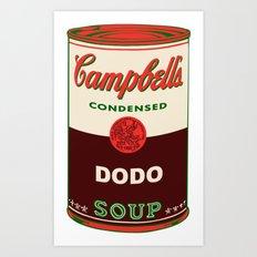 Dodo Soup Art Print