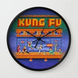 Fu Kung Wall Clock