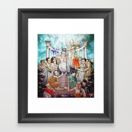 L'apothéose d'Emmanuel Framed Art Print