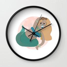 Mergirl Wall Clock