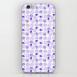 Purple Spring iPhone Skin