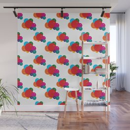 Colorful Balloons Pattern Wall Mural