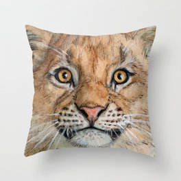 Lion Cub 894 Throw Pillow