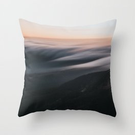 Sunset mood - Landscape and Nature Photography Throw Pillow
