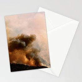 Cedar City Forest Fire - III Stationery Cards