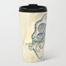 Blue Octopus Travel Mug