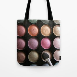 Eye Shadow Tote Bag