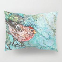 The Aquamarine Labyrinth (detail no. 1) Pillow Sham
