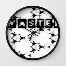 WASTEDTIME Wall Clock