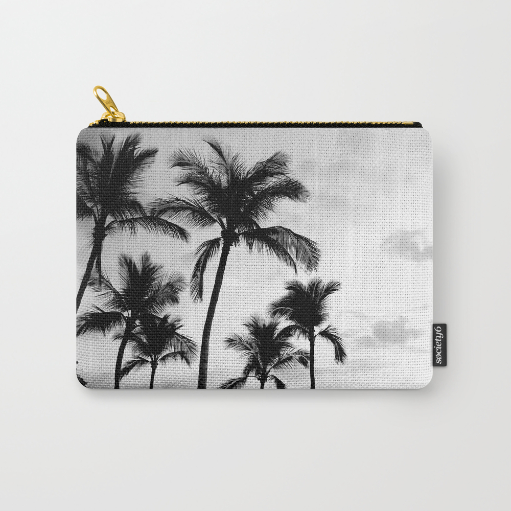 Palm Tree Noir #54 Carry-all Pouch by Palmtreenoir CAP8509947