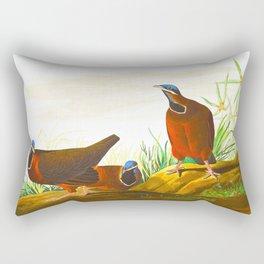 Blue-headed Pigeon Rectangular Pillow