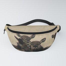 Cow Elk in a Bunch Fanny Pack