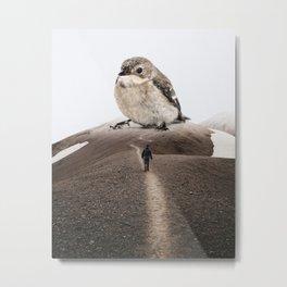 Big Little Bird by GEN Z Metal Print