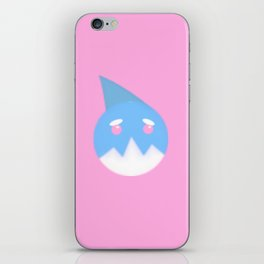 Pink Shark  iPhone Skin