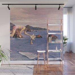 Starfishing Wall Mural