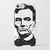 lincoln iPhone & iPod Cases featuring LINCOLN $ by b & c