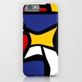 Curvy Mondrian iPhone Case