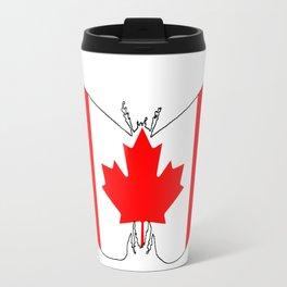 Canada Butterfly Travel Mug