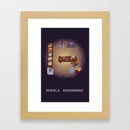 Humble Beginnings // Animal Crossing Fan Art Framed Art Print