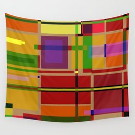 PIXEL MAP Wall Tapestry