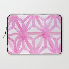 Pink Asanoha Laptop Sleeve