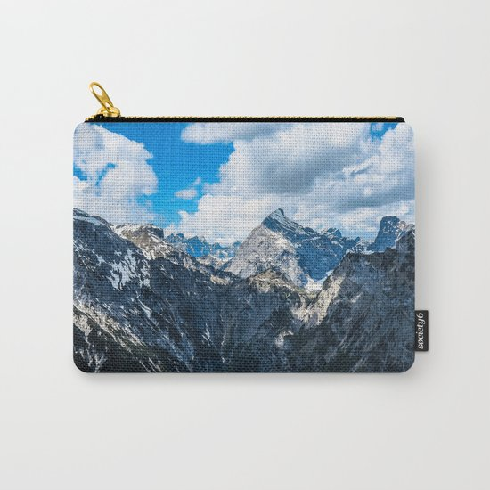 Overcoming Mountains Carry-All Pouch