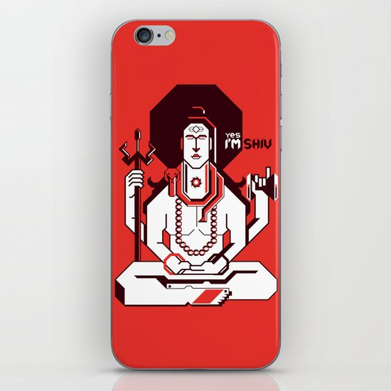 Shiva iPhone & iPod Skin