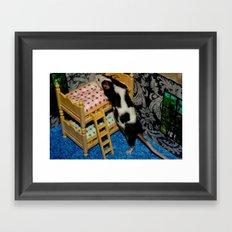 Mouse House Framed Art Print