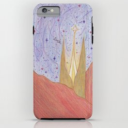 In a far away land. iPhone Case