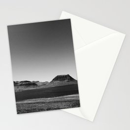 The Snow Above Kirkjufell Stationery Cards