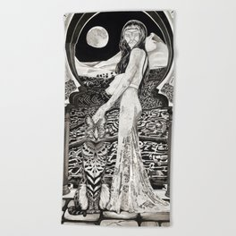 The New Mythology Beach Towel