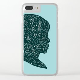 In a Science State of Mind Clear iPhone Case