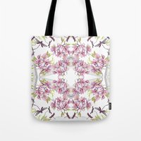 fairy tale Tote Bags featuring Fairy tale  by GigiMoll