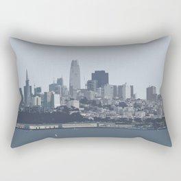 San Francisco Skyline Rectangular Pillow
