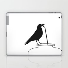 Thirsty crow Laptop & iPad Skin