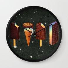 Chocodelic cream Wall Clock