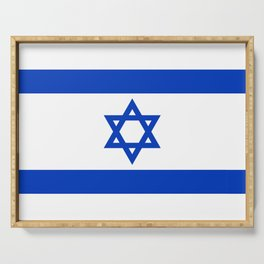 National flag of Israel Serving Tray
