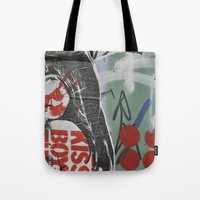 graffiti Tote Bags featuring Graffiti by AntWoman