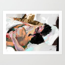 snore Art Print