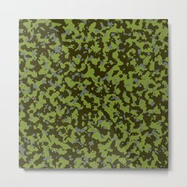 Military Camouflage Texture 14 Metal Print