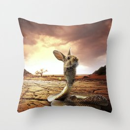 Snabbit Throw Pillow