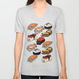 Sushi Otter Unisex V-Neck