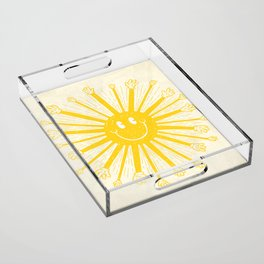 Heat Wave Acrylic Tray