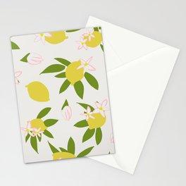 Lemony Pattern No 03 Stationery Cards