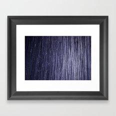 rain room Framed Art Print